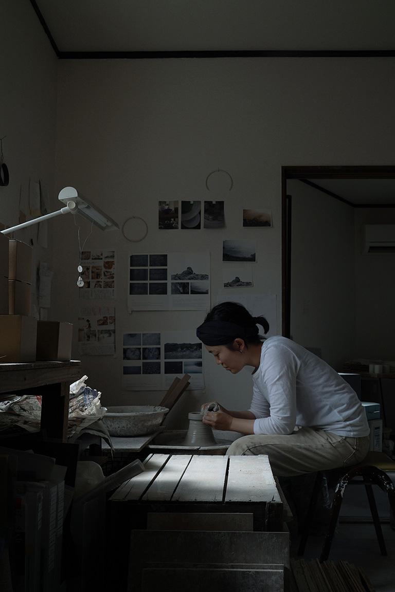 光を思い起こさせる陶/塚崎 愛05